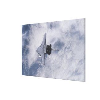 Esfuerzo 3 del transbordador espacial impresiones de lienzo
