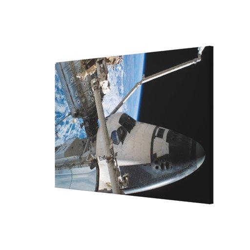 Esfuerzo 5 del transbordador espacial impresiones en lienzo estiradas