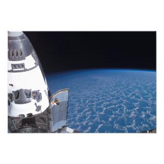 Esfuerzo 6 del transbordador espacial fotografías