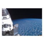 Esfuerzo 6 del transbordador espacial impresión fotográfica