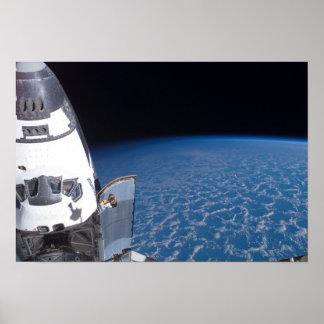 Esfuerzo 7 del transbordador espacial posters