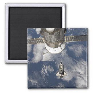 Esfuerzo 8 del transbordador espacial imán cuadrado