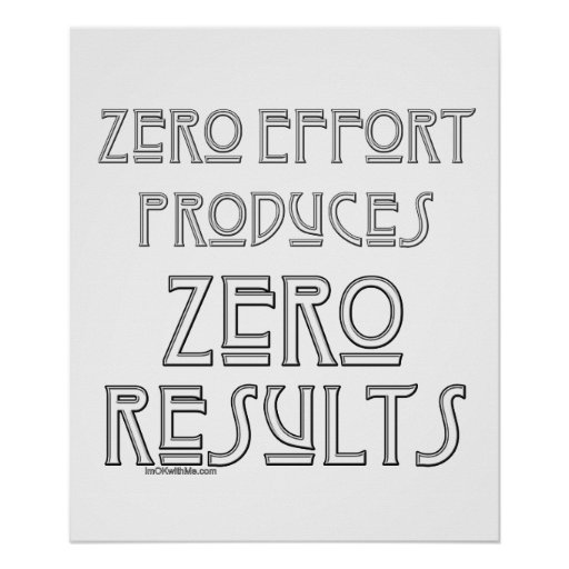 Esfuerzo cero… 2 poster