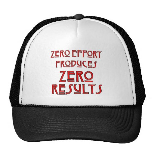 Esfuerzo cero… gorra