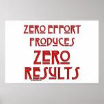 Esfuerzo cero… posters