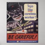 Esfuerzo de la guerra del vintage posters