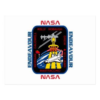 Esfuerzo del STS 118 Tarjeta Postal