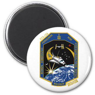 Esfuerzo del STS 126 Imán Redondo 5 Cm