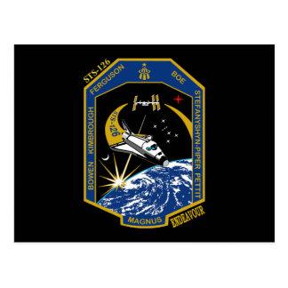 Esfuerzo del STS 126 Postales