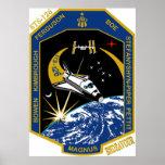 Esfuerzo del STS 126 Poster