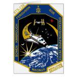 Esfuerzo del STS 126 Tarjeta