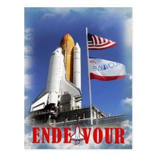 Esfuerzo del transbordador espacial, Centro Tarjeta Postal