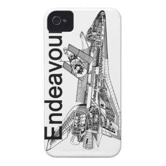 Esfuerzo del transbordador espacial Case-Mate iPhone 4 cárcasas