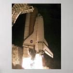 Esfuerzo del transbordador espacial posters