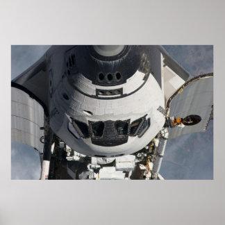 Esfuerzo del transbordador espacial que hace su ST Póster