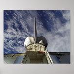 Esfuerzo del transbordador espacial (STS-100) Posters