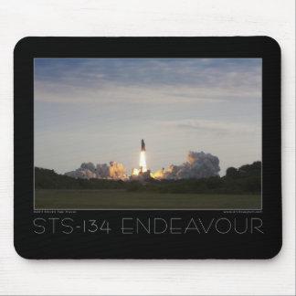 Esfuerzo del transbordador espacial STS-134 Mousepads
