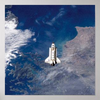 Esfuerzo STS-113 de la lanzadera Póster
