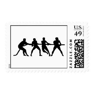 Esfuerzo supremo sello postal