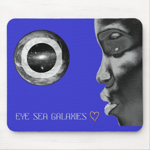 ESG Golden Heart Mouse Pad
