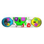 ESGHHG Girlie Vampire Skull Custom Skateboard