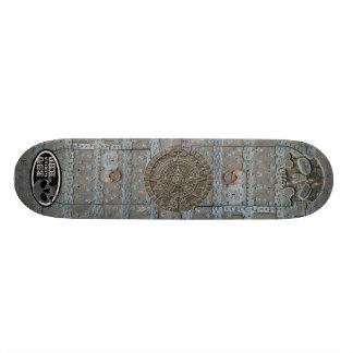 ESGHHG Medieval Doors Aztec Incan Mayan Circle? Skateboard Deck