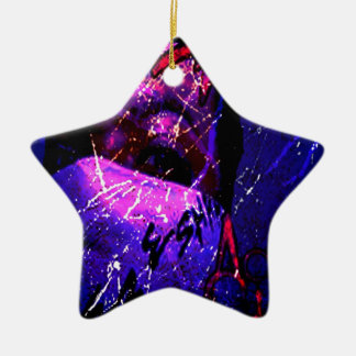 Esham Acid Rain Ceramic Ornament