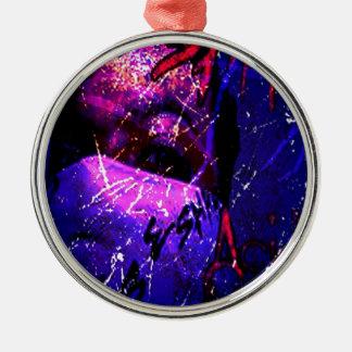 Esham Acid Rain Metal Ornament