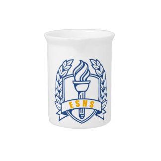 ESHS Honors scholar symbol Drink Pitcher
