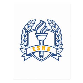 ESHS Honors, scholar, symbol Postcard