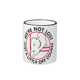 Eskie Agility Off Course Mug