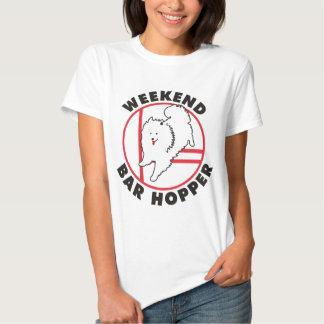 Eskie Agility Weekend Bar Hopper Shirt