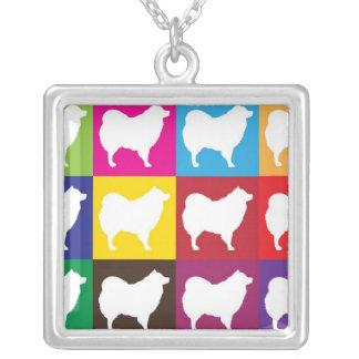 Eskie Checkerboard Necklace