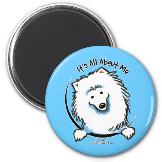 Eskie Its All About Me 2 Inch Round Magnet