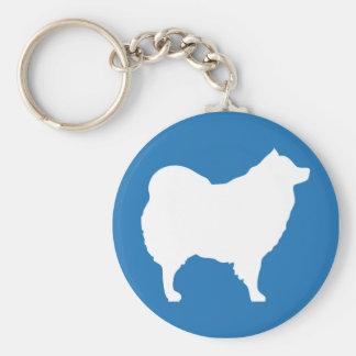 Eskie Keychain Blue