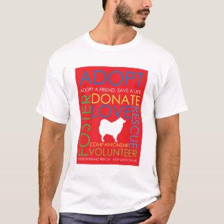 Eskie Rescue Design Shirt Red