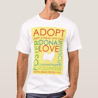 Eskie Rescue Design Shirt Yellow