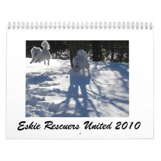 Eskie Rescuers United 2010 Calendar