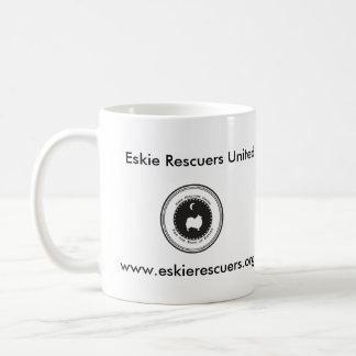 Eskie Rescuers United Coffee Mugs