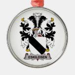Eskildsen Family Crest Ornaments