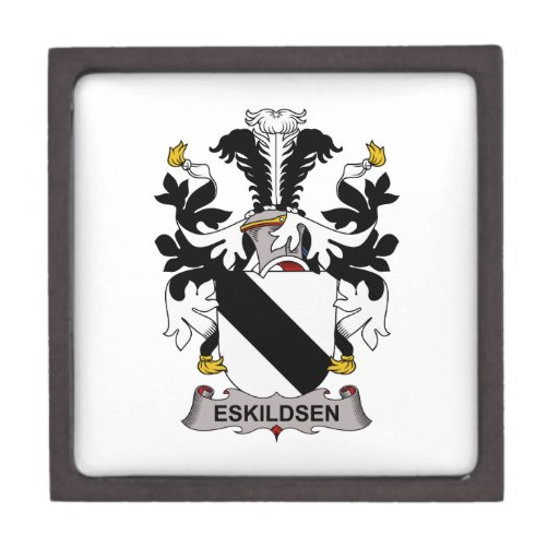 Eskildsen Family Crest Premium Trinket Box