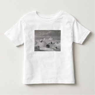 Eskimaux building a Snow-Hut, from 'Journal of a S Tee Shirts