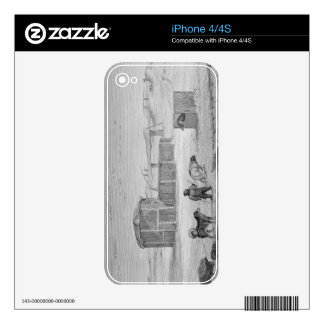 Eskimaux House, built of ice, Igloolik, 1822, from Skin For The iPhone 4S