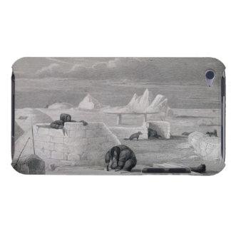 Eskimaux que construye una Nieve-Choza, del 'diari Case-Mate iPod Touch Carcasas