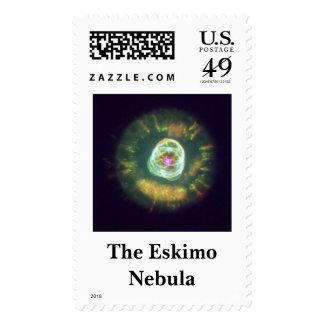 eskimo2Finished, The Eskimo Nebula Postage