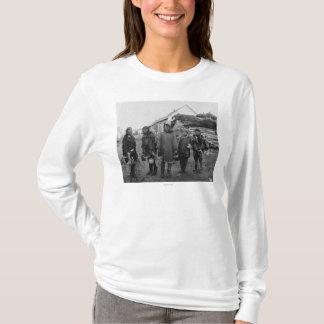 Eskimo Berry Pickers in Nome, Alaska Photograph T-Shirt