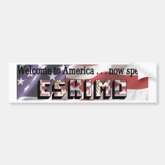 Eskimo Bumper Sticker