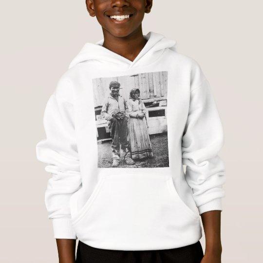 eskimo couple hoodie