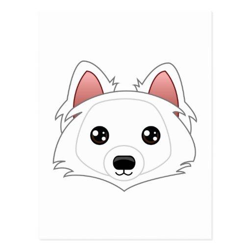 Eskimo Dog Postcard