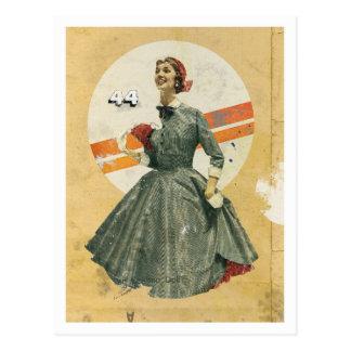 'Eskimo Doll' postcard